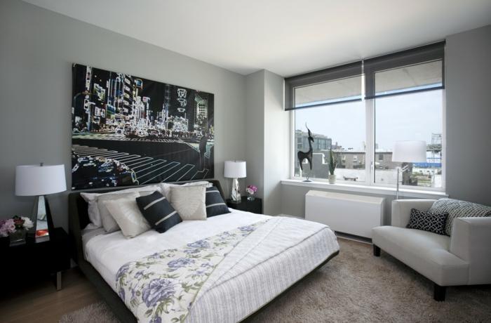 schlafzimmer-in-grau-cooles-großes-fenster