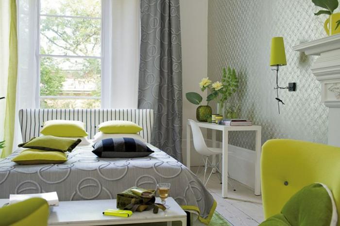 deckenlampe schlafzimmer gr n inspiration. Black Bedroom Furniture Sets. Home Design Ideas