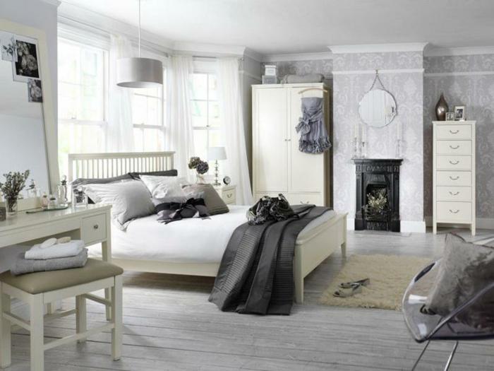 Modernes Schlafzimmer Grau : Modernes und gemütliches Schlafzimmer in ...