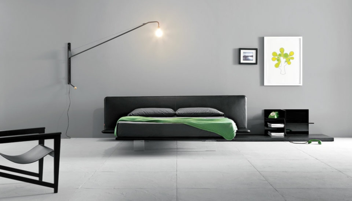 schlafzimmer-in-grau-tolle-lampe