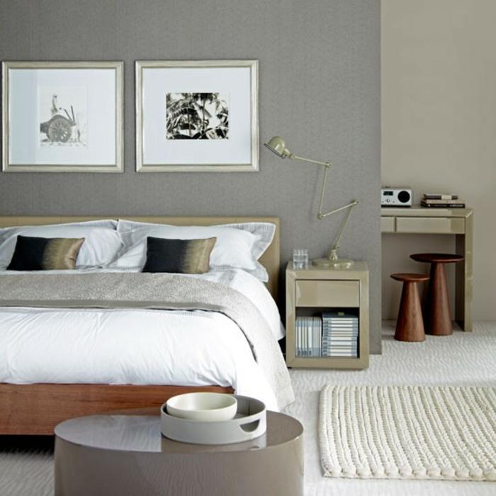 super design - schlafzimmer farben - zwei bilder