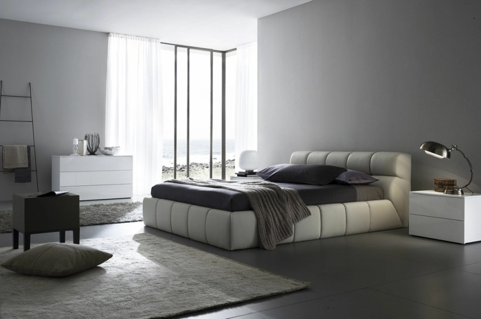 schlafzimmer-in-grau-wunderschönes-bett-modell