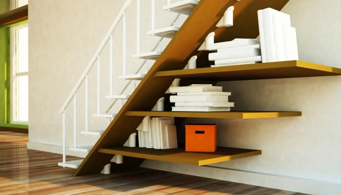 Regal Unter Treppe schrank unter die treppe stellen eine tolle idee archzine