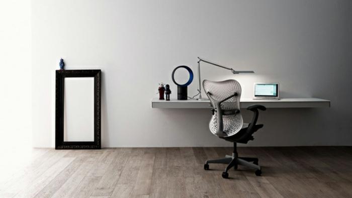 schreibtisch-ideen-weiße-minimalistische-gestaltung