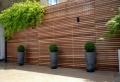 Sichtschutz aus Holz für eine tolle Außengestaltung!