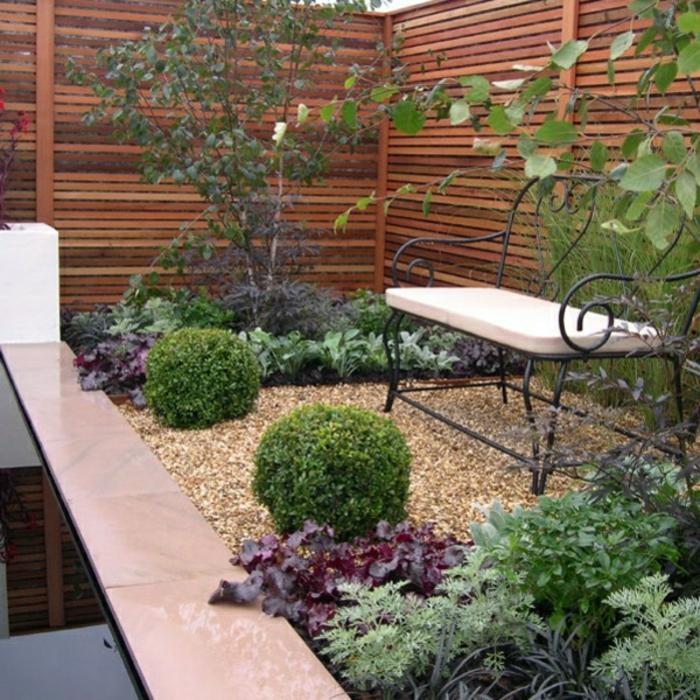 Sichtschutz aus Holz für eine tolle Außengestaltung! - Archzine.net