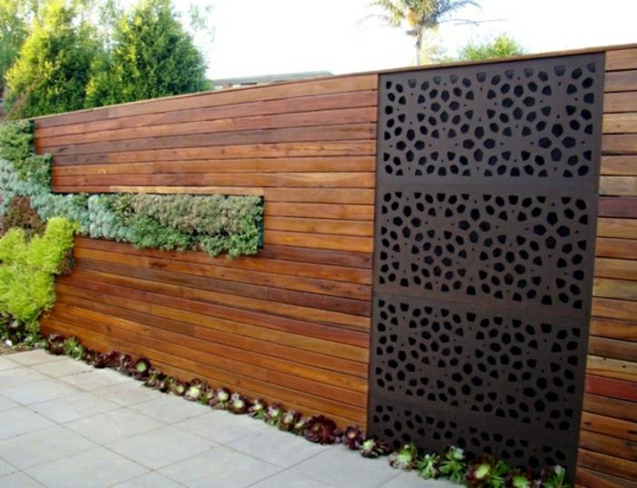28 Interessante Sichtschutz Ideen Für Garten! - Archzine.net Balkon Sichtschutz Aus Holz