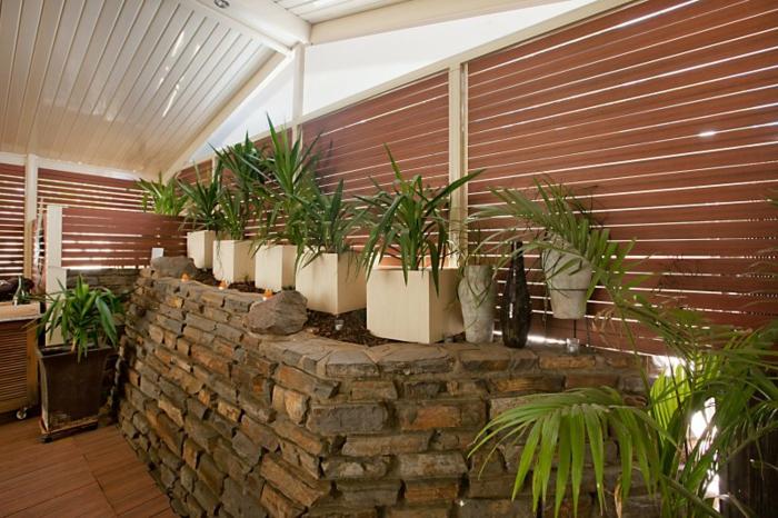 sichtschutz-ideen-grüne-topfpflanzen