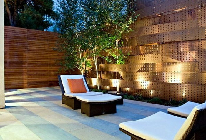 28 Interessante Sichtschutz Ideen Für Garten! - Archzine.net 28 Ideen Fur Terrassengestaltung Dach