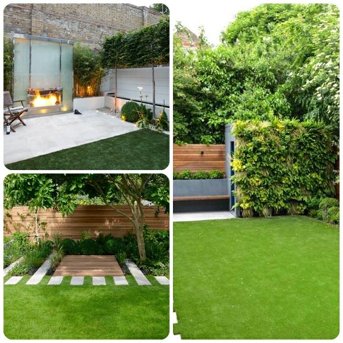 sichtschutz mit pflanzen gartenzaun ideen und designs gartengestaltung beispiele moderner hintergarten