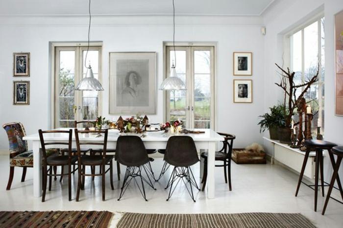 kleines wohnzimmer mit essbereich einrichten genie auf zusammen ... - Wohnzimmer Einrichten Mit Esstisch