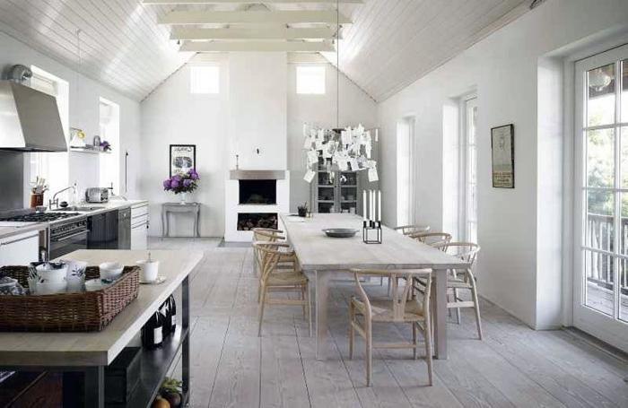 skandinavisch-einrichten-große-weiße-küche