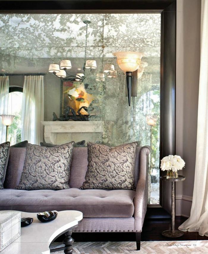 sofa-aus-samt-graues-schönes-modell