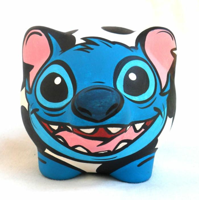 sparschwein-bemalen-wunderschönes-lustiges-blaues-design