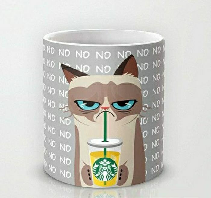 starbucks-tasse-lustiges-Design-Grumpy-Cat-Zeichnung
