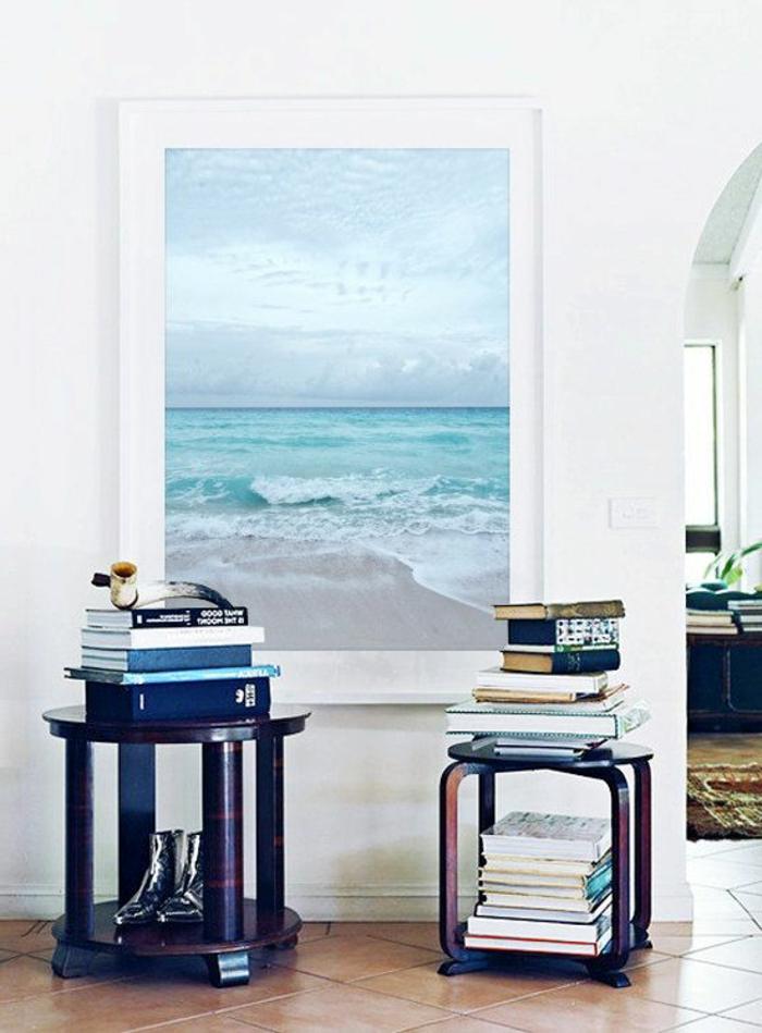 strand-deko-großes-bild-an-der-wand-sterne