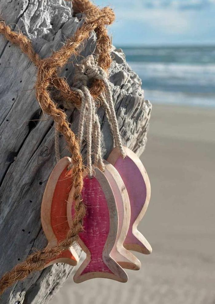 strand-deko-hängende-mediterrane-fische