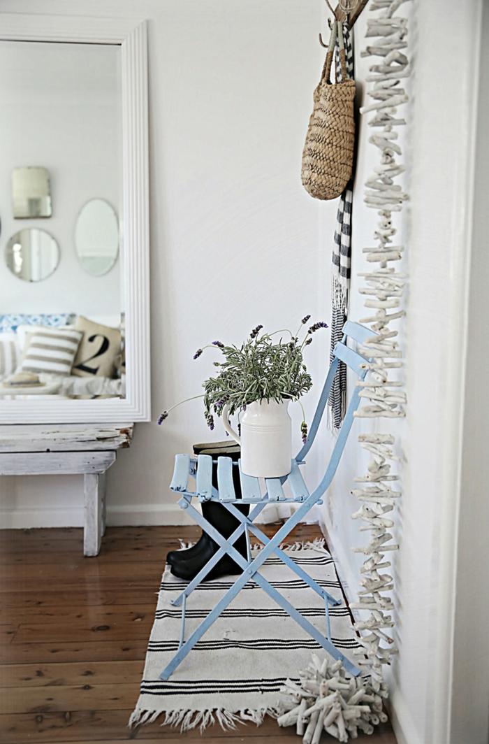 strand-deko-kleiner-teppich-und-weiße-gestaltung