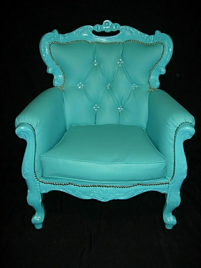 türkisgrüner-Barock-Sessel-Leder-elegant-exquisit