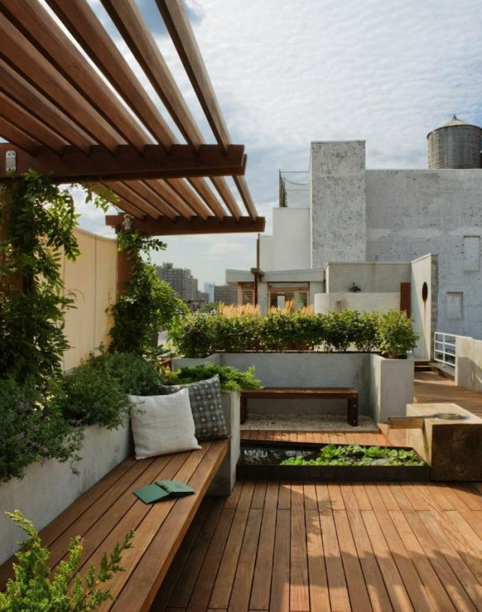 terrassen-gestaltungsmöglichkeiten-hölzerne-bretter
