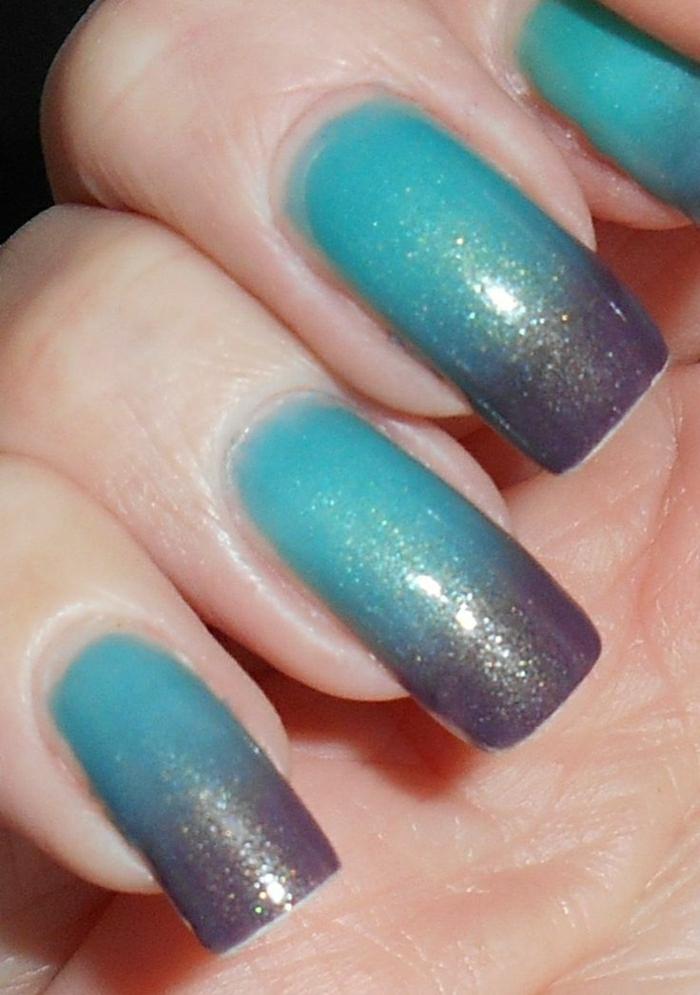 thermo-Effekt-lila-türkis-Farbe