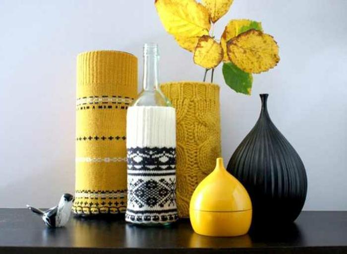 vasen-deko-ideen-gelbe-akzente