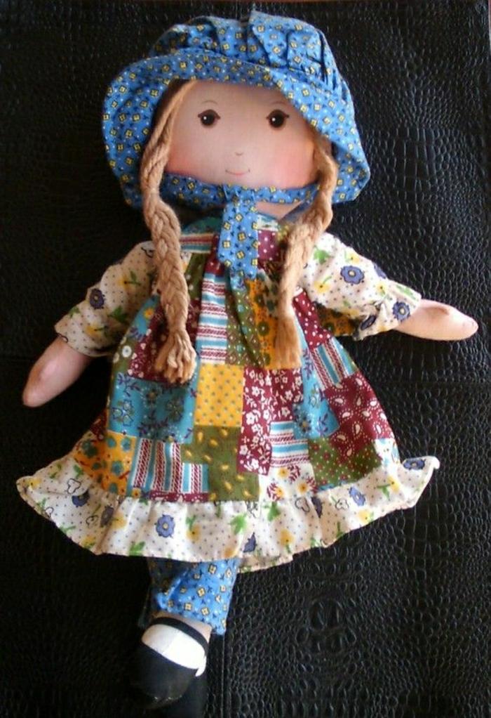 vintage-Holly-Hobbie-Puppe-Textil