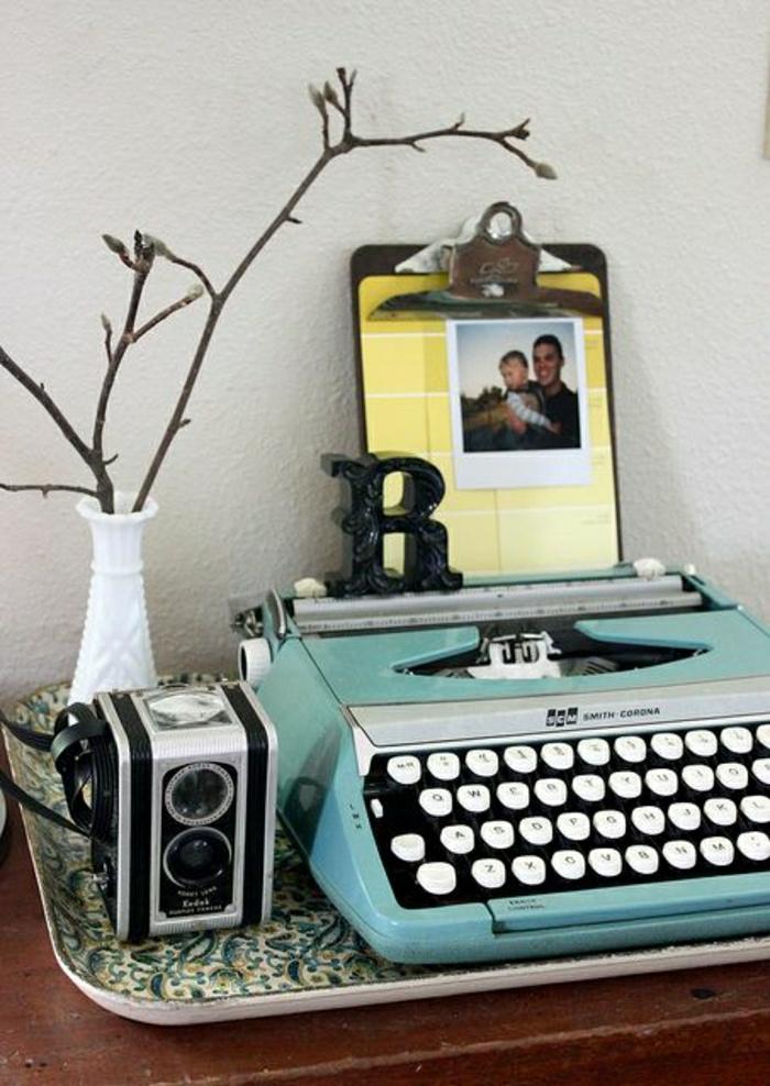 vintage-Schreibmaschine-Foto-romantisch