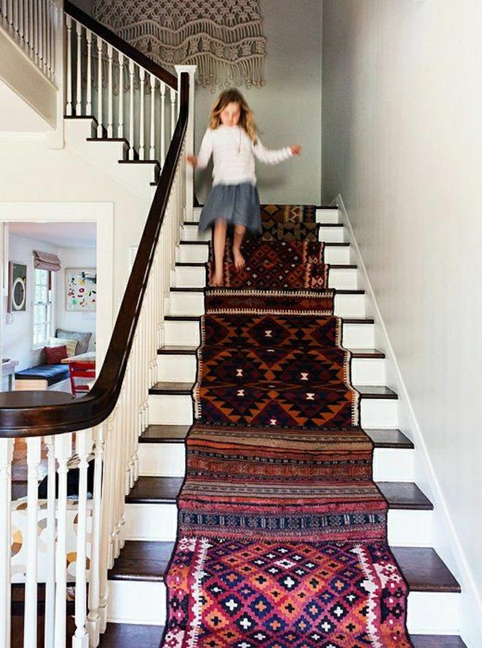 vintage-Teppiche-Treppen