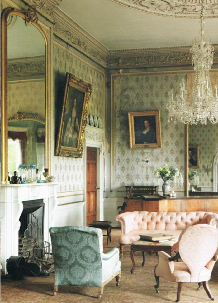vintage bilder wohnzimmer:Vintage bilder wohnzimmer : vintage Wohnzimmer Bilder goldene Rahmen