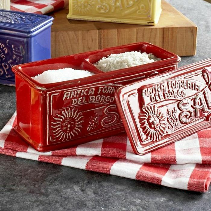 vintage-italienische-Salz-Schachtel-Keramik