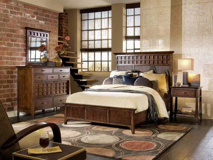 Vintage Schlafzimmer Gestalten  vintageschlafzimmerbraunes