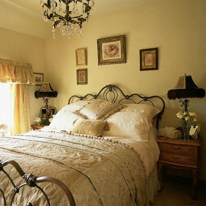 vintage lila schlafzimmer ~ kreative deko-ideen und innenarchitektur - Faszinierende Vintage Schlafzimmermobel Romantisch Und Sus