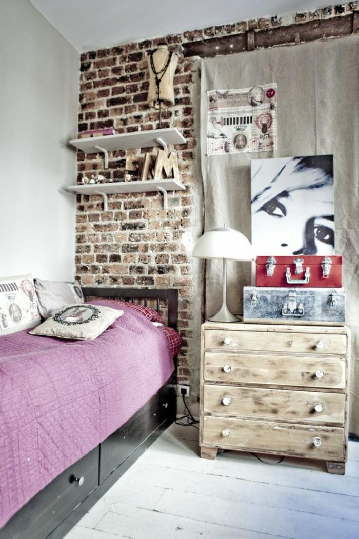 Emejing Vintage Schlafzimmer Einrichten Verspielte Blumenmuster ...