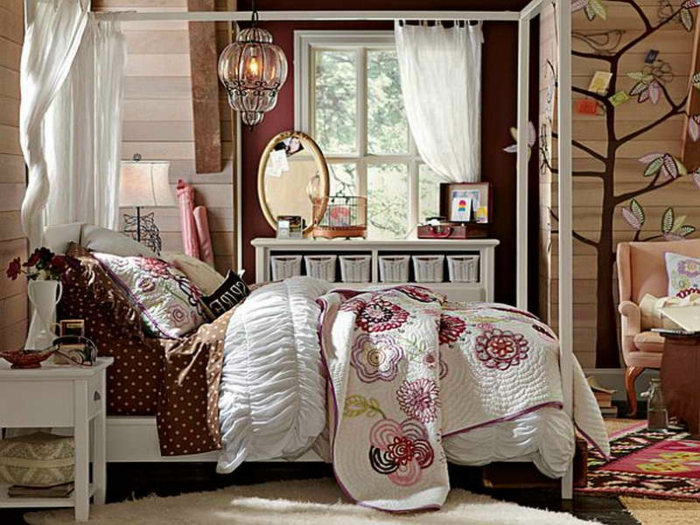 70 coole bilder von vintage schlafzimmer. Black Bedroom Furniture Sets. Home Design Ideas