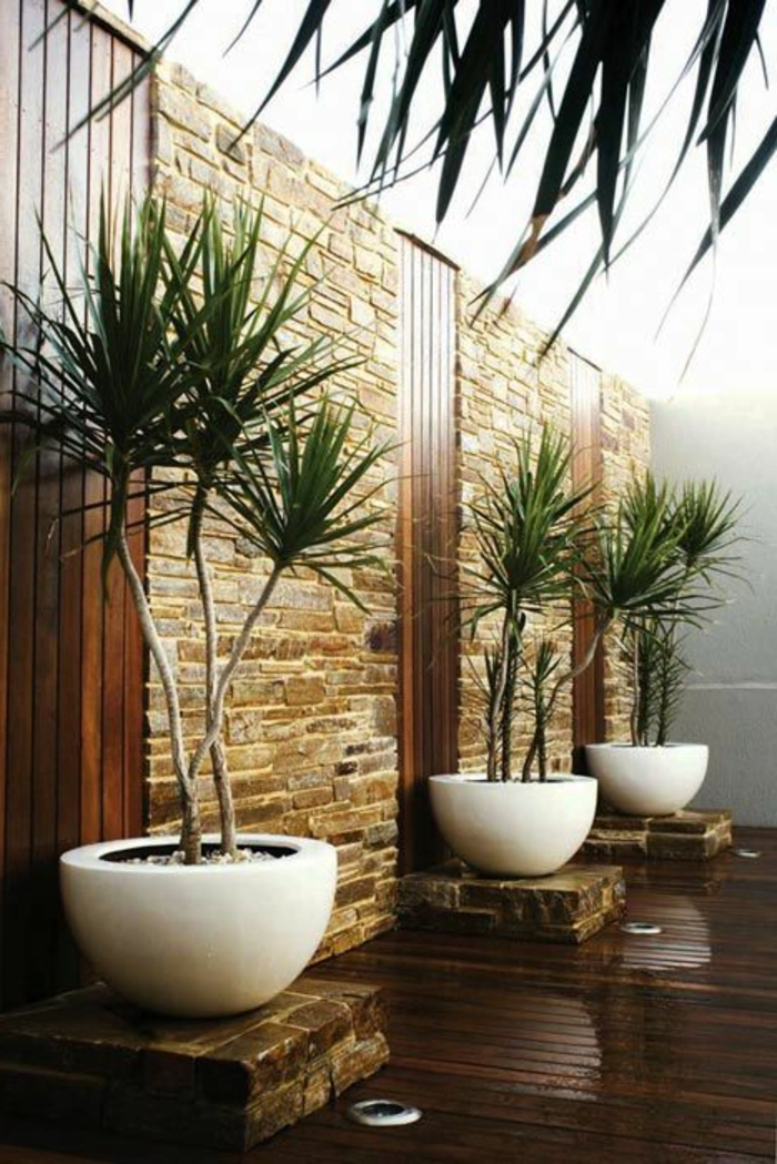 43 super designs von wandpaneel aus holz! - archzine.net - Grose Wohnzimmer Pflanzen