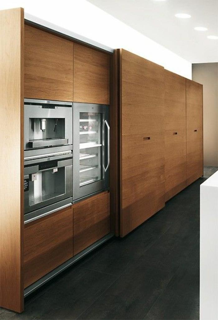43 super designs von wandpaneel aus holz! - archzine.net - Wandpaneele Küche Holzoptik