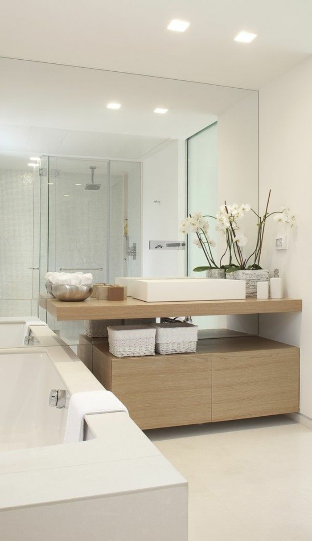 70 einmalige modelle von waschtisch aus holz for Badezimmer ideen holz