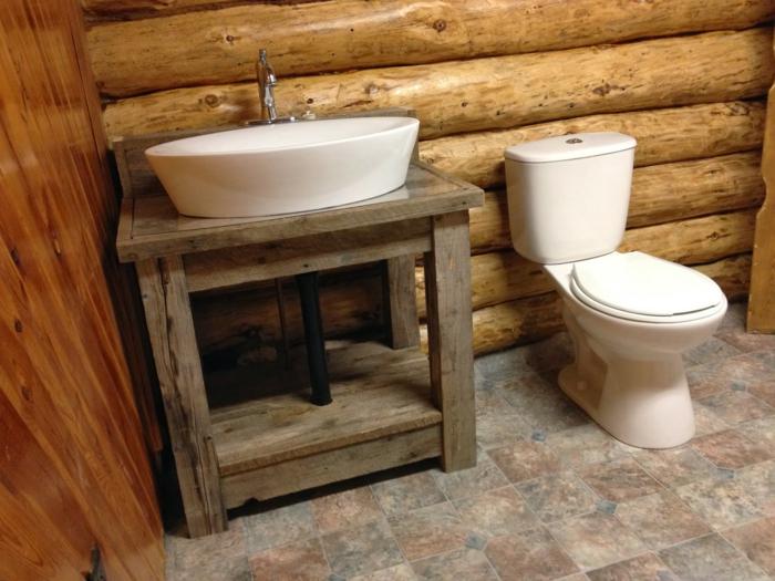 Waschtisch Holz Landhausstil ~ Holz Für Badezimmer Holzmöbel im bad · wohnideen magazin