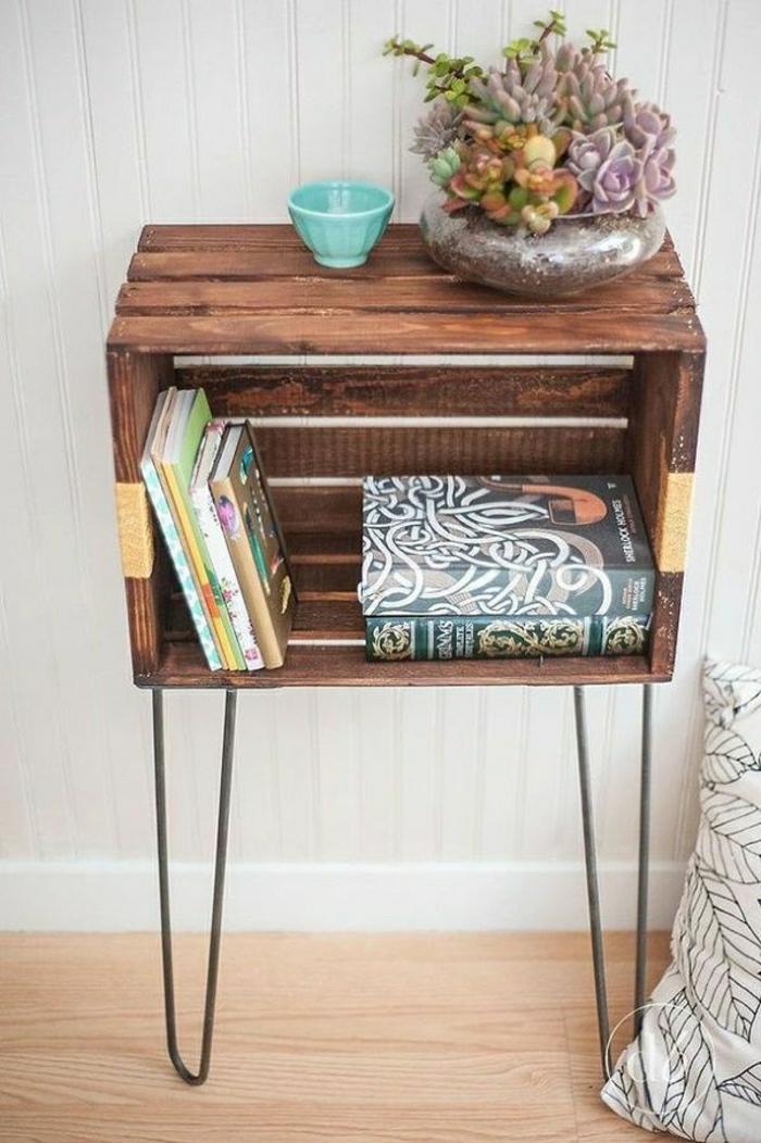 weinkisten-regal-Topfpflanze-Bücher-vintage-coole-Idee