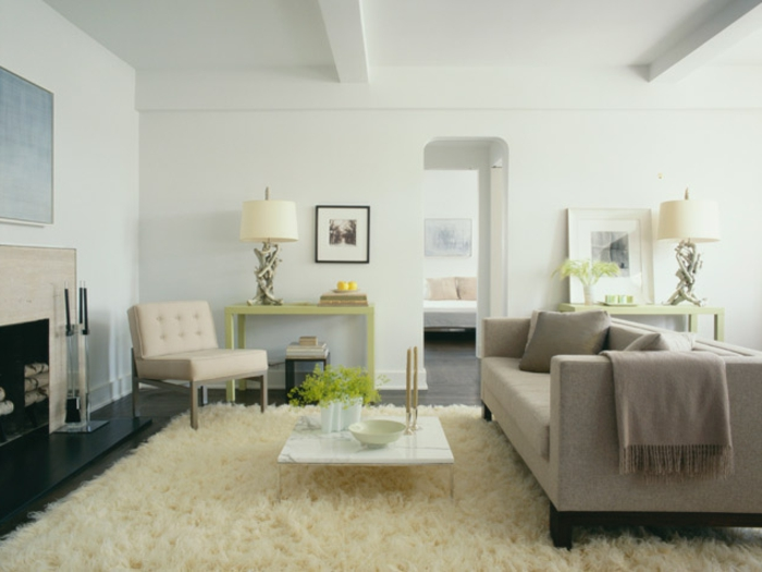 Wohnzimmer Gestalten Gemütlich Neutrale Farben Photo
