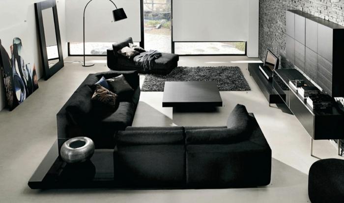 Wohnzimmer In Schwarz: 25 Interieurs ...