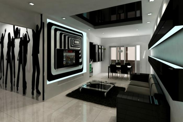 wohnzimmer-in-schwarz-luxuriöse-gestaltung