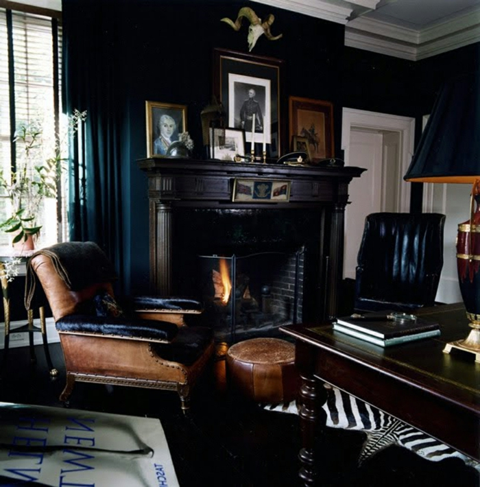 wohnzimmer-in-schwarz-schickes-design