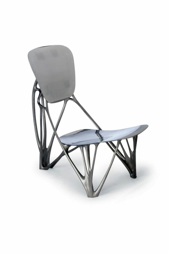 Aluminium-Stuhl-einmaliges-Design-exquisit-modern