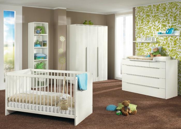 Niedliche designs f r babyzimmer set for Babyzimmer braun