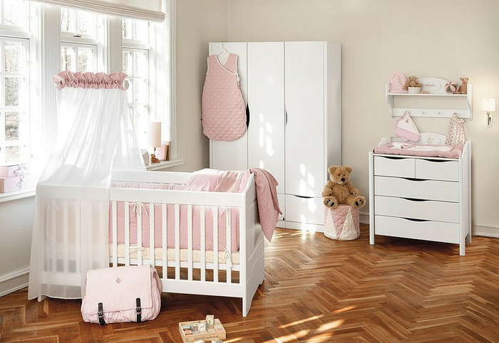 babyzimmer m dchen. Black Bedroom Furniture Sets. Home Design Ideas