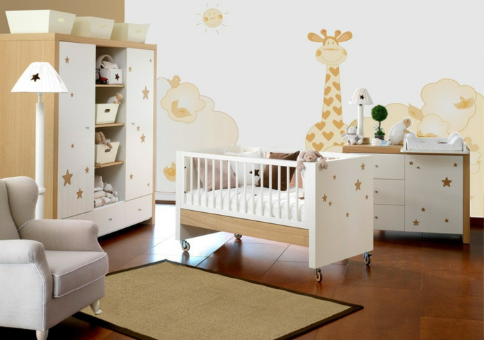 babyzimmer design wanddeko. Black Bedroom Furniture Sets. Home Design Ideas