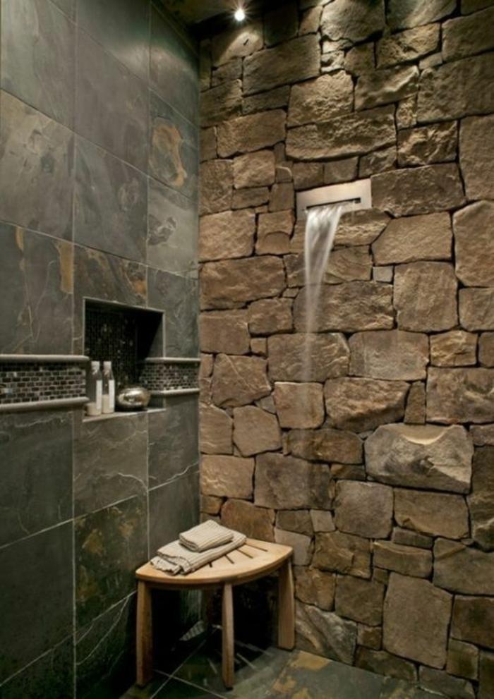 Coole und praktische badezimmer ideen for Badezimmer mit dusche idee