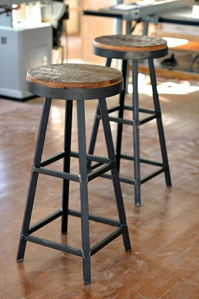 Vintage Industrial Kitchen Island